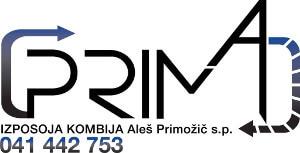 PRIMA - izposoja kombija Aleš Primožič s.p. sponzor pokala Perkmandlc